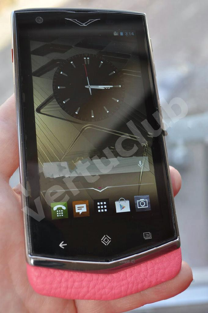 Vertu Constellation V Pink Leather, Verty, верту, копии vertu, копии телефонов vertu, точные копии vertu