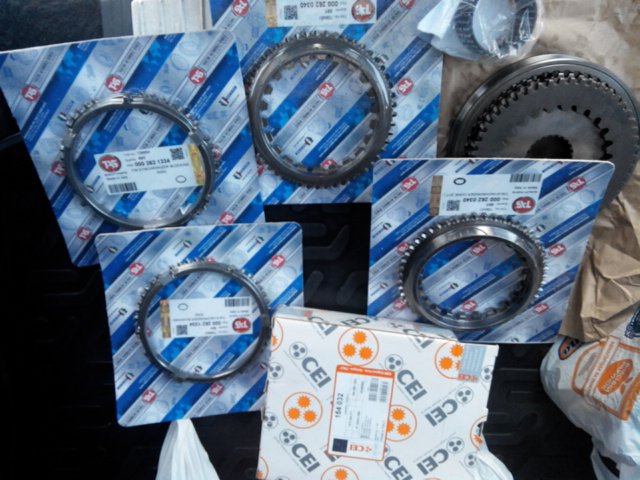Запчасти кпп tas, euroricambi, cei, zf на daf, man, volvo, iveco, scania, renault, mersedes, neoplan