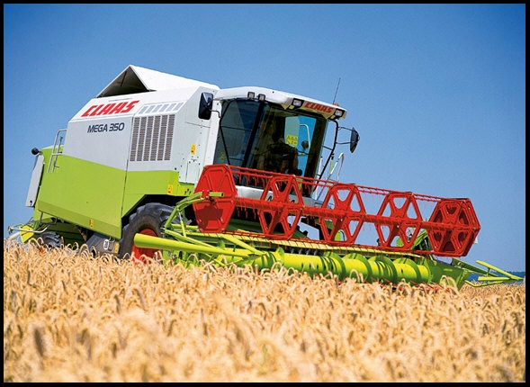 Аренда комбайнов Claas Lexion, John-Deere, New Holland