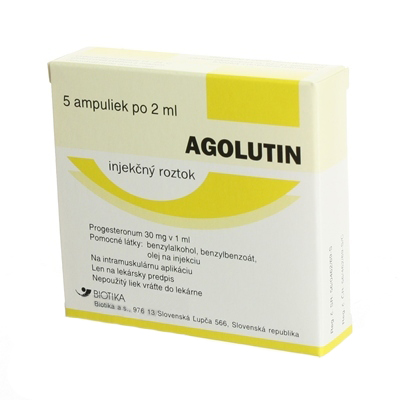 Продам препарат Аголютин ( Agolutin 60 mg 5x2 ml )