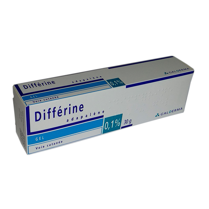 Differine gel 0,1 % 30 g Дифферин гель, 0,1% 30 г
