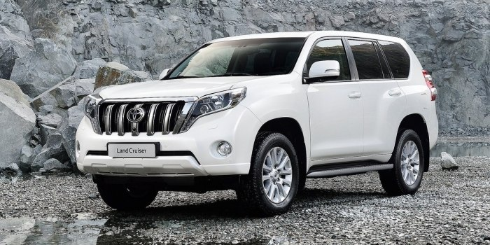 Прокат авто Toyota Land Cruiser 150 Prado от $21 в сутки